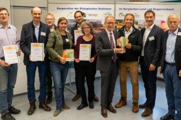 Biologische Stationen und Wupperverband erhalten Auszeichnung
