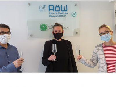 AöW-Geschäftsstelle als leitungswasserfreundlich ausgezeichnet