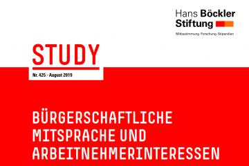 Studie  der Hans Böckler Stiftung: Bürgerschaftliche Mitsprache und Arbeitnehmerinteressen – Eine Untersuchung öffentlicher Wasser- und Stromunternehmen in Deutschland und Frankreich
