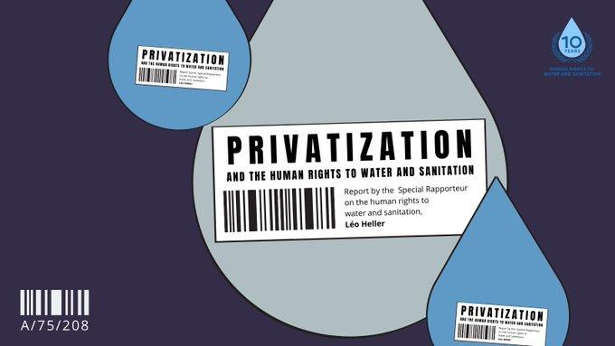 Léo Heller: Privatisierung und die Menschenrechte auf Wasser- und Sanitärversorgung