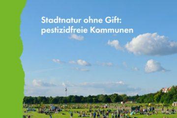 BUND-Broschüre und Ratgeber: Pestizidfreie Kommunen