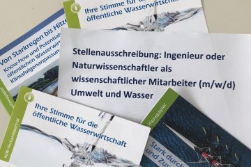 Stellenausschreibung:  Ingenieur oder Naturwissenschaftler als wissenschaftlicher Mitarbeiter (m/w/d) Umwelt und Wasser
