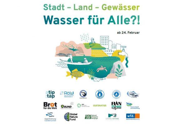 Stadt – Land – Gewässer – Wasser für Alle?!