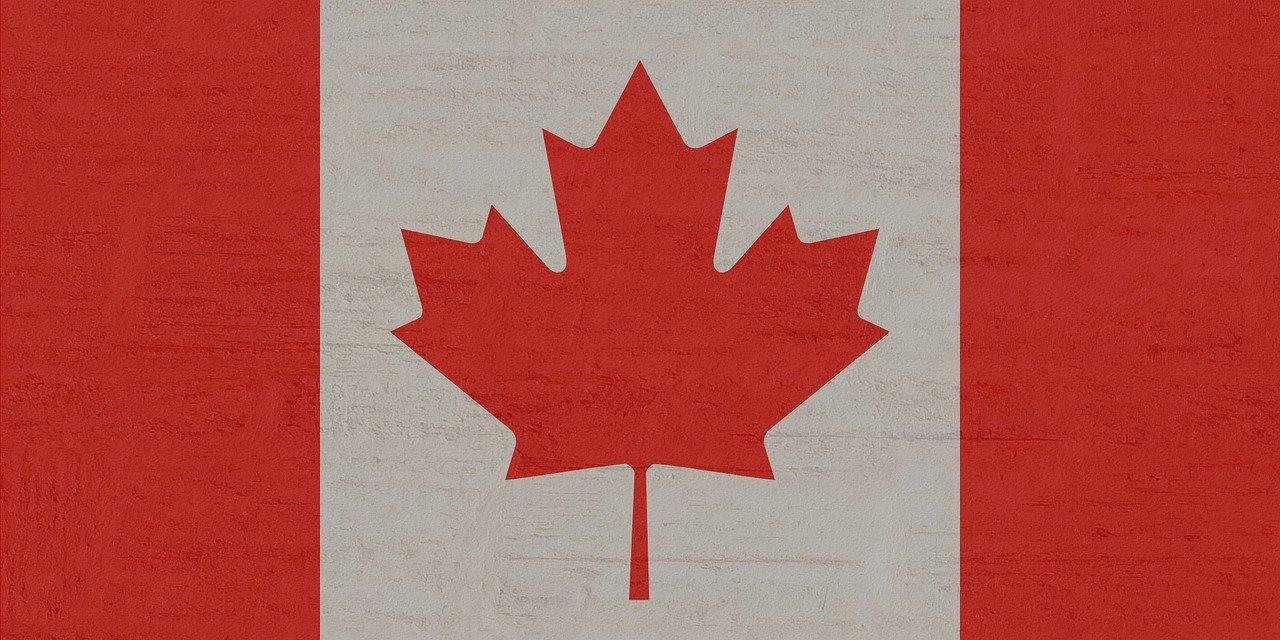 Bild: kanadische Fahne