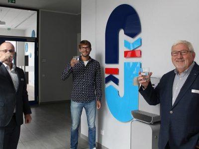 Wasserverband Peine als leitungswasserfreundliches Unternehmen ausgezeichnet